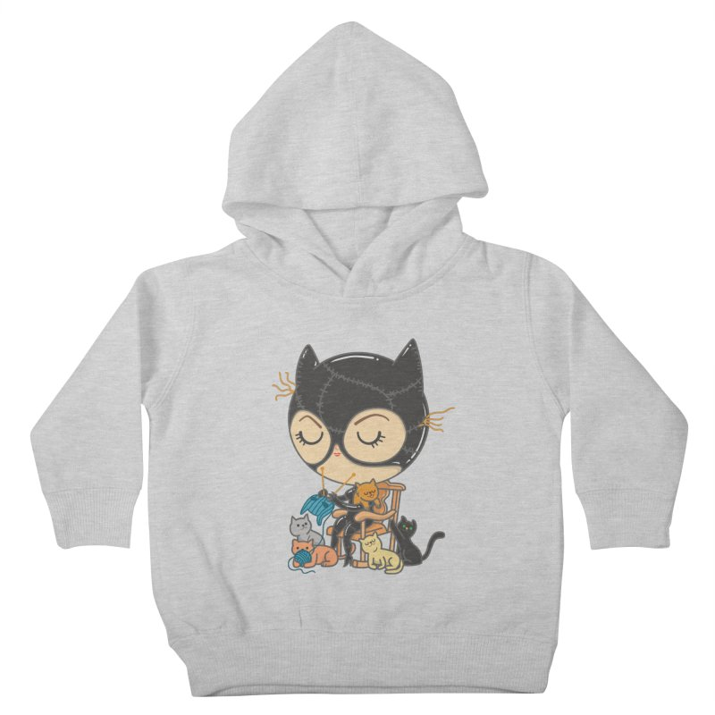 Cat Lady Kids Toddler Pullover Hoody by Pepe Rodríguez