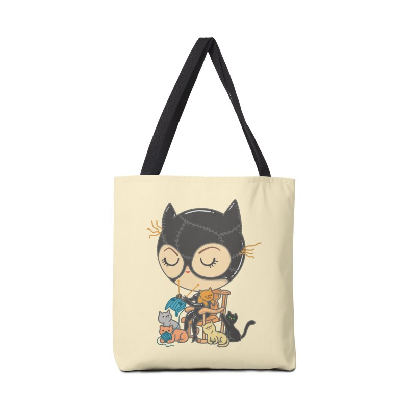Cat Lady Accessories Bag by Pepe Rodríguez