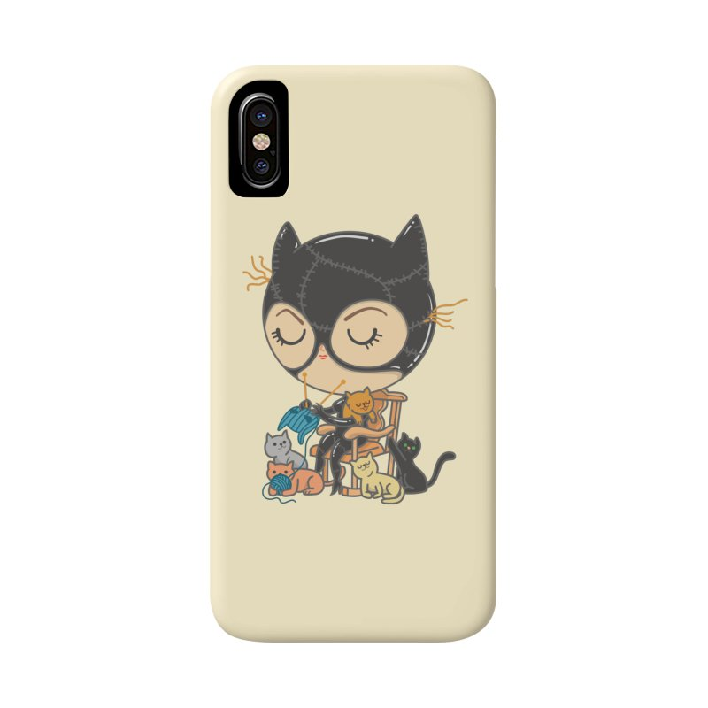 Cat Lady Accessories Phone Case by Pepe Rodríguez