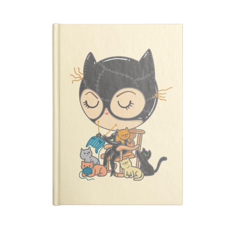 Cat Lady Accessories Notebook by Pepe Rodríguez