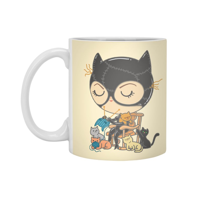 Cat Lady Accessories Mug by Pepe Rodríguez