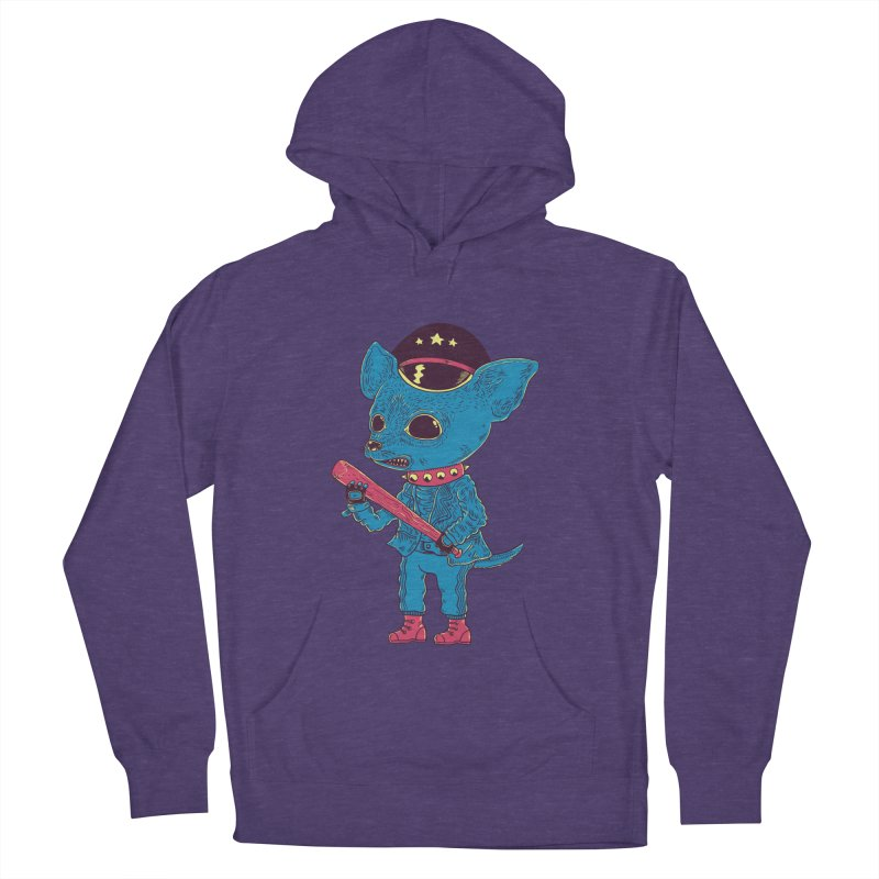 Bad chihuahua Men's French Terry Pullover Hoody by Pepe Rodríguez
