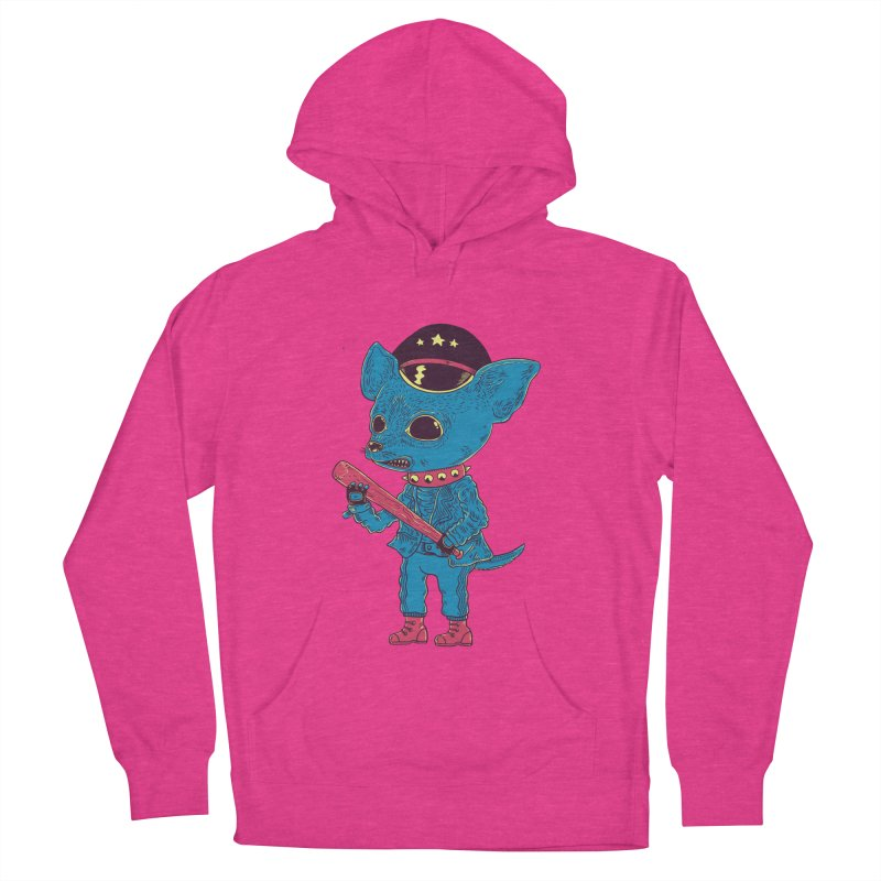 Bad chihuahua Men's Pullover Hoody by Pepe Rodríguez