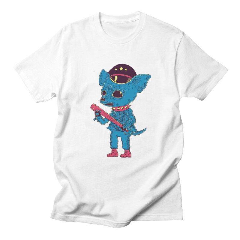Bad chihuahua Men's Regular T-Shirt by Pepe Rodríguez