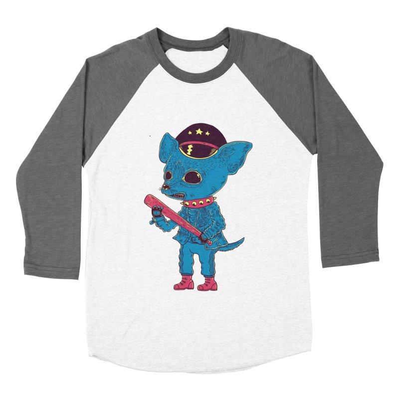Bad chihuahua Men's Baseball Triblend Longsleeve T-Shirt by Pepe Rodríguez