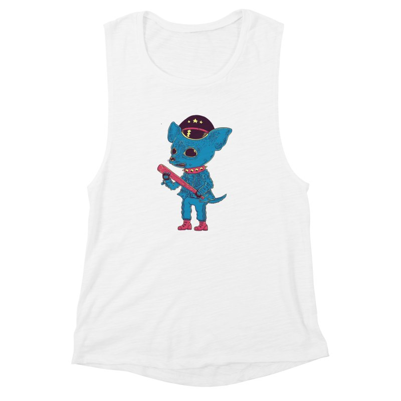Bad chihuahua Women's Muscle Tank by Pepe Rodríguez