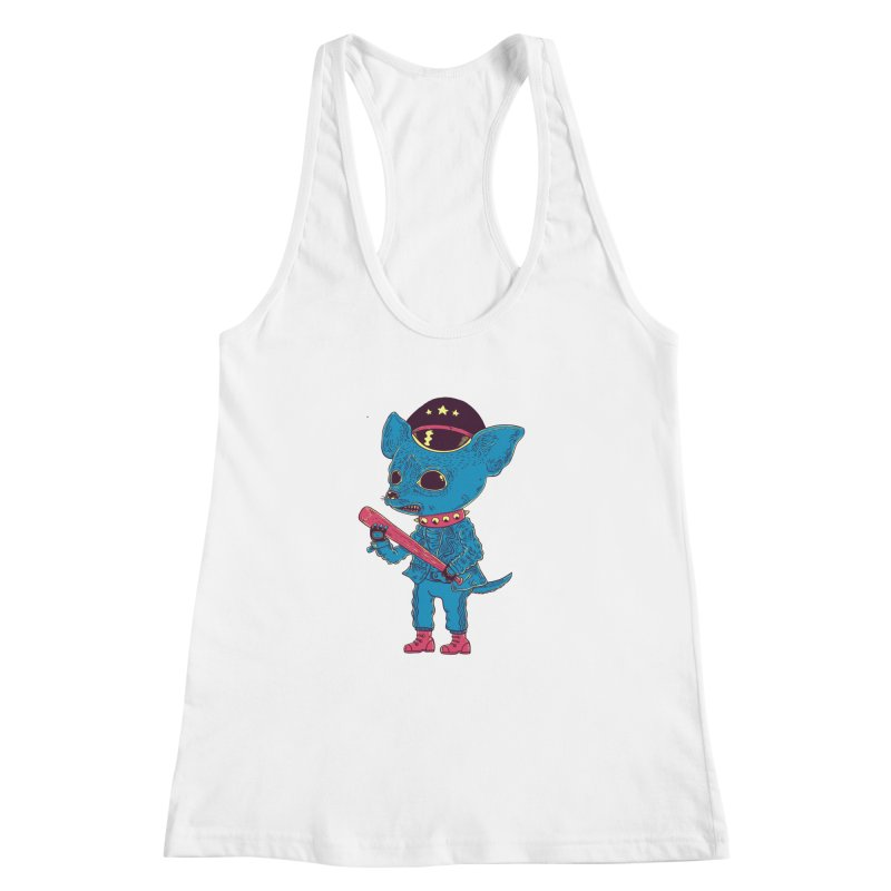 Bad chihuahua Women's Racerback Tank by Pepe Rodríguez