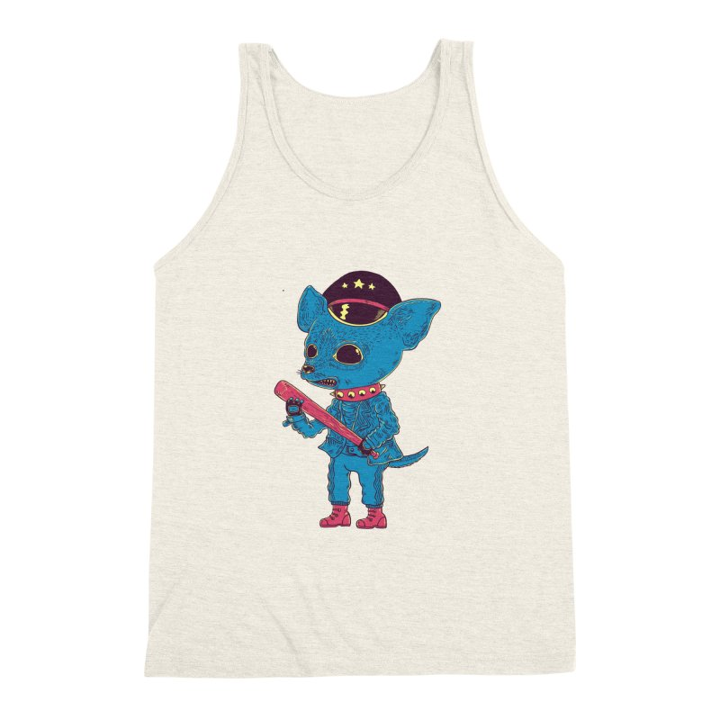 Bad chihuahua Men's Triblend Tank by Pepe Rodríguez