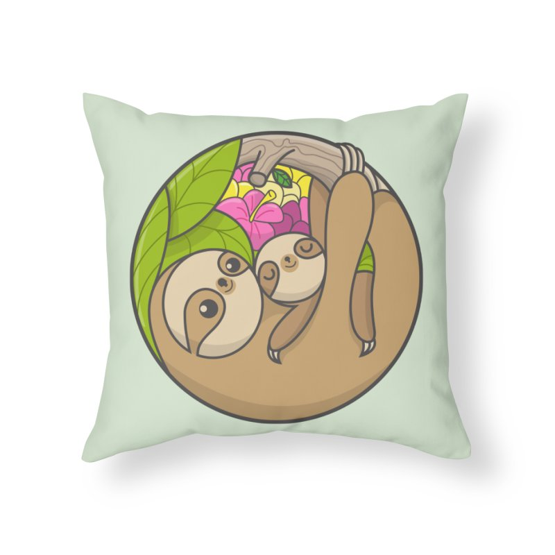 Blooming love Home Throw Pillow by Pepe Rodríguez