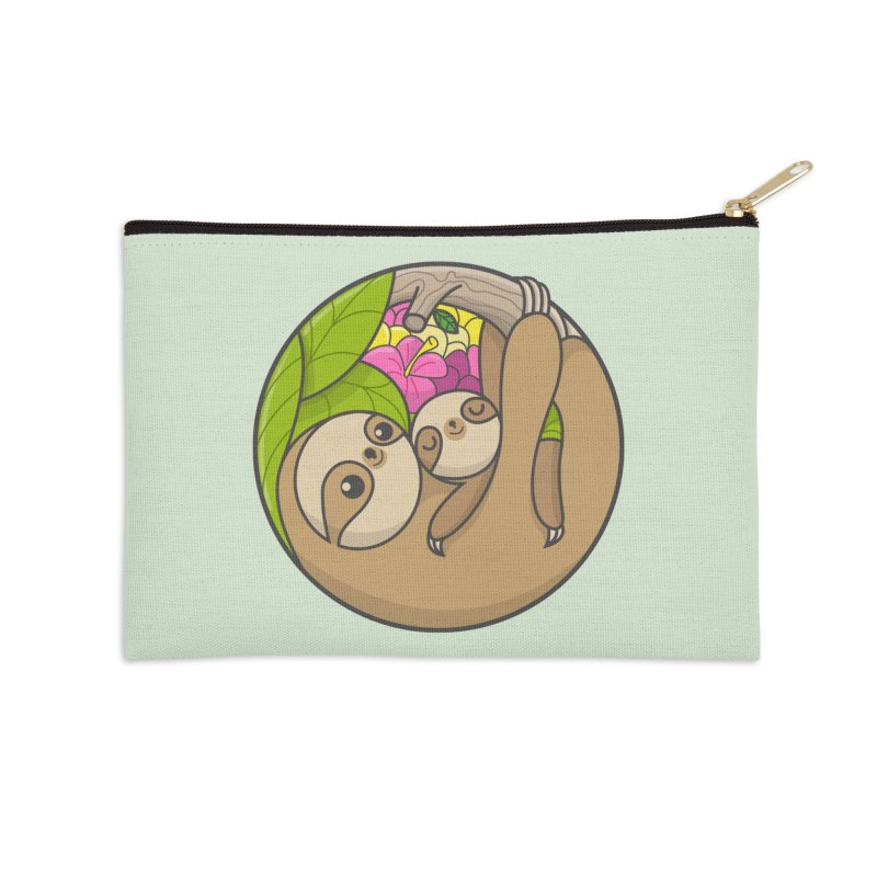 Blooming love Accessories Zip Pouch by Pepe Rodríguez