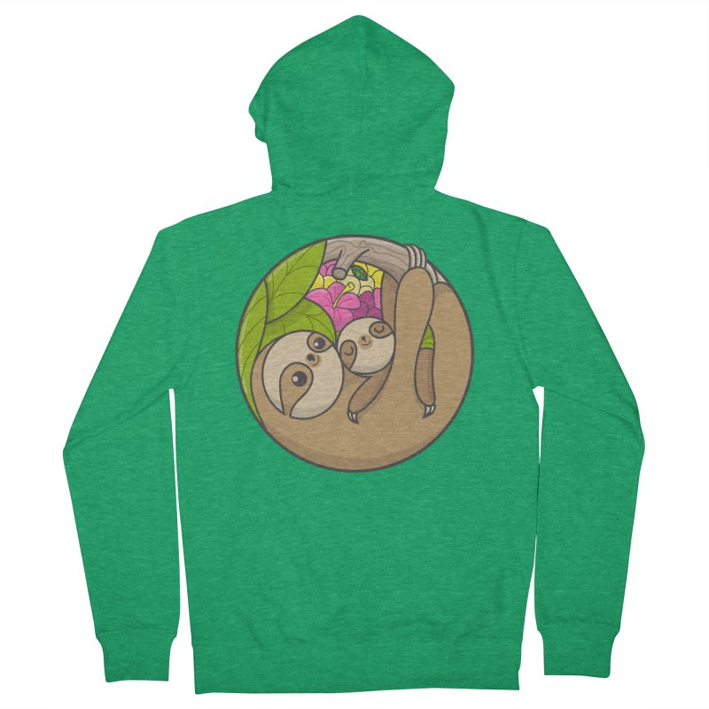 Blooming love Men's French Terry Zip-Up Hoody by Pepe Rodríguez