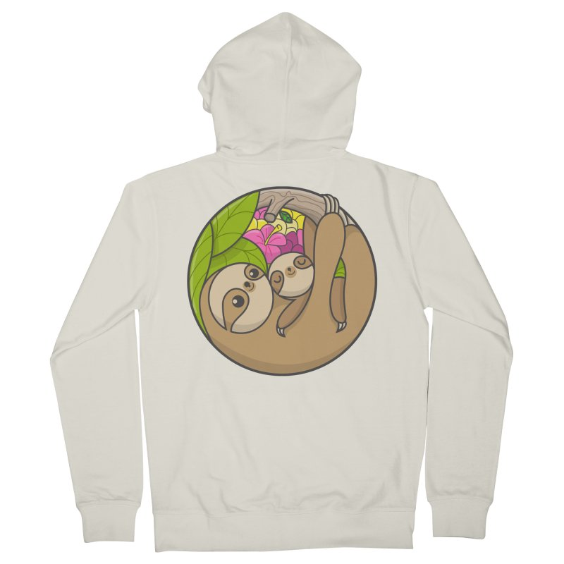 Blooming love Men's Zip-Up Hoody by Pepe Rodríguez