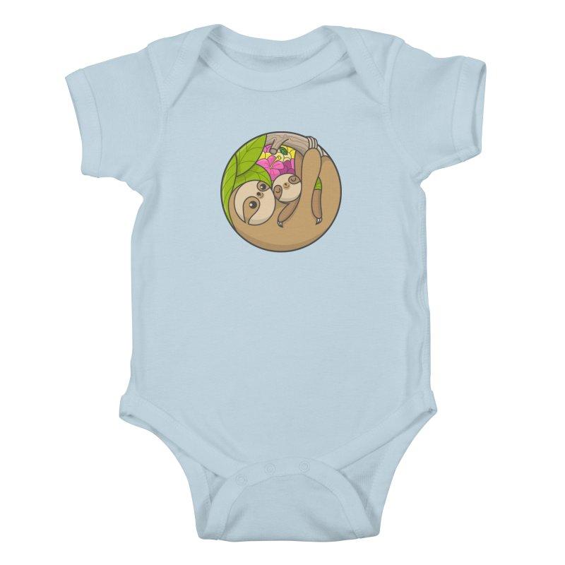 Blooming love Kids Baby Bodysuit by Pepe Rodríguez