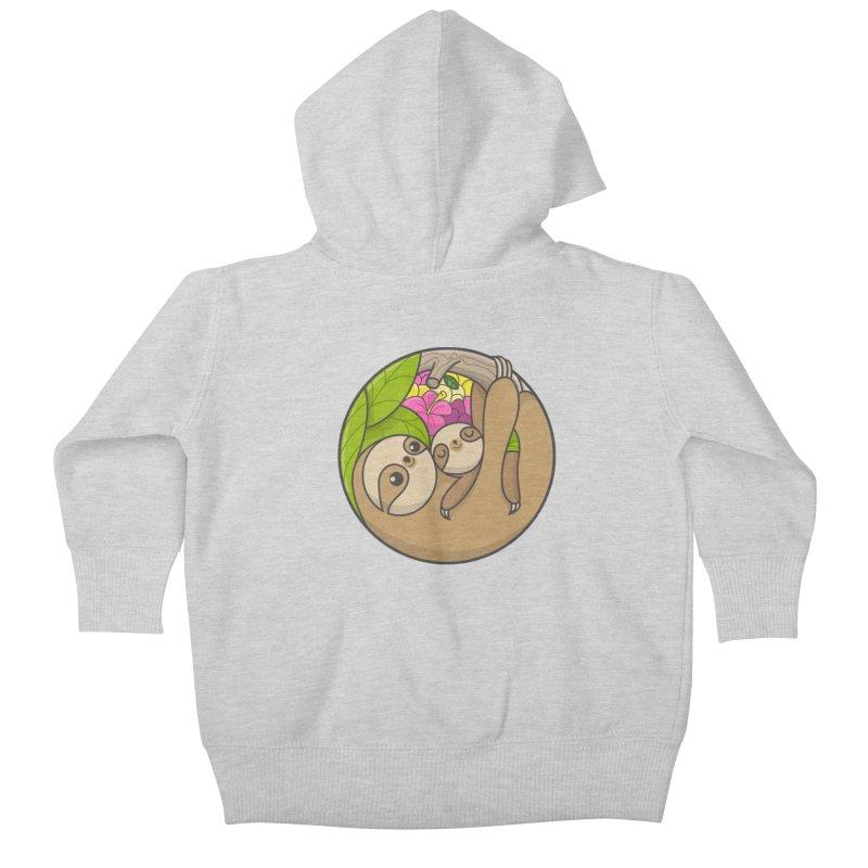 Blooming love Kids Baby Zip-Up Hoody by Pepe Rodríguez