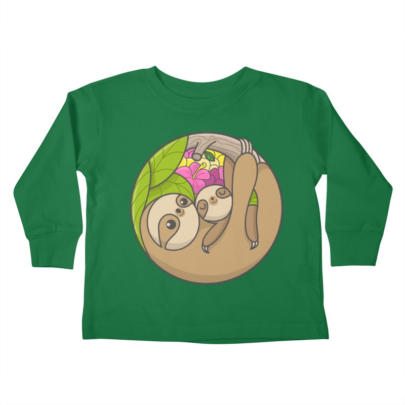 Blooming love Kids Toddler Longsleeve T-Shirt by Pepe Rodríguez