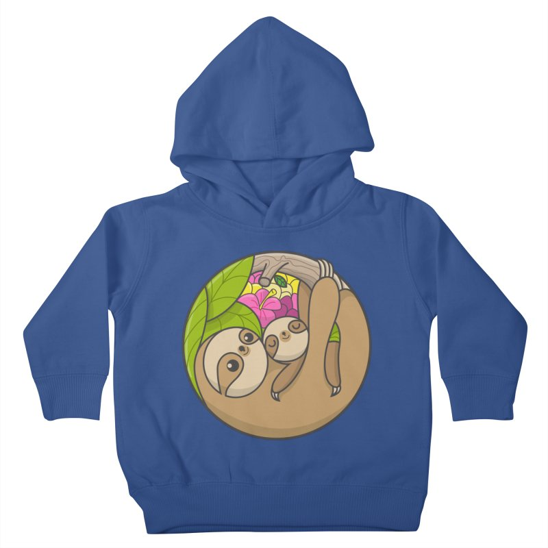 Blooming love Kids Toddler Pullover Hoody by Pepe Rodríguez
