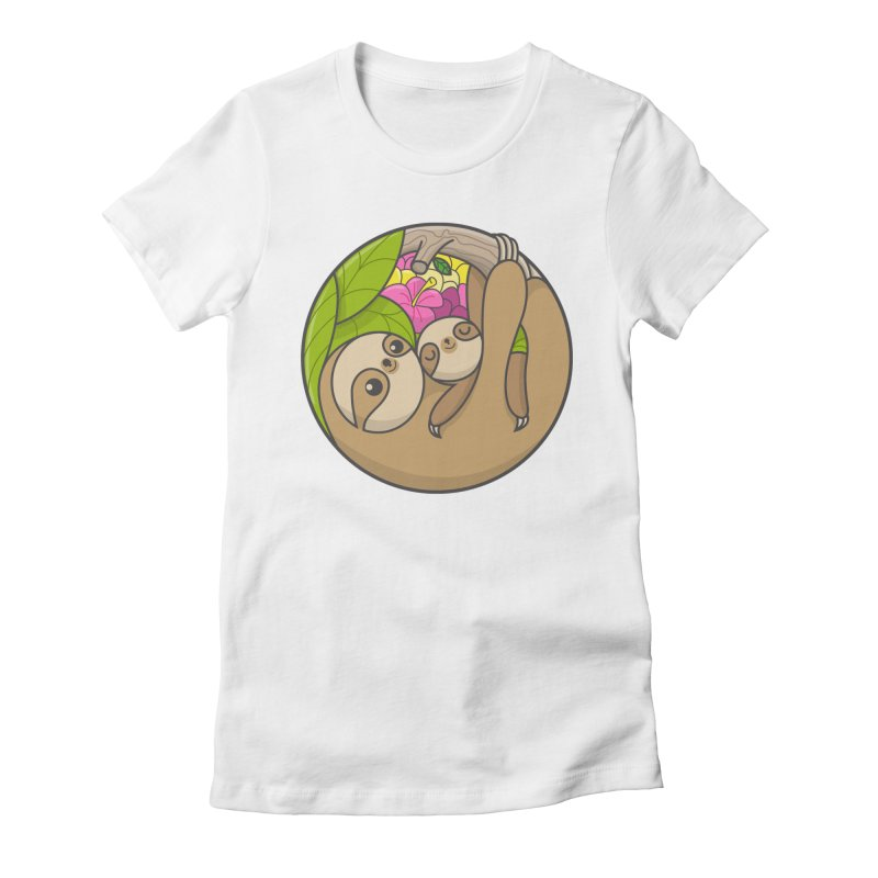 Blooming love Women's Fitted T-Shirt by Pepe Rodríguez