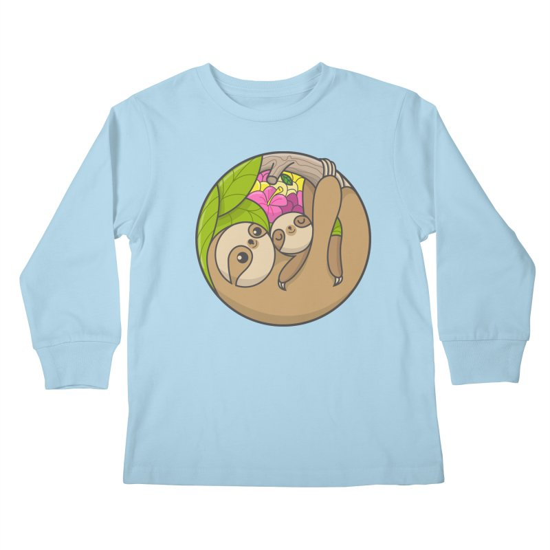 Blooming love Kids Longsleeve T-Shirt by Pepe Rodríguez