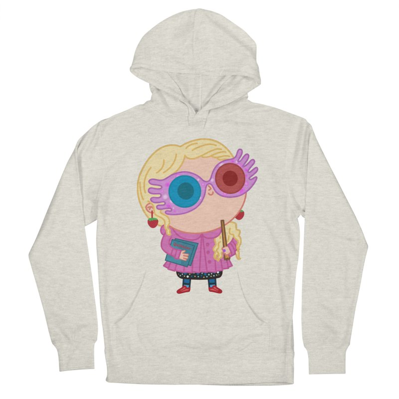 Luna Men's French Terry Pullover Hoody by Pepe Rodríguez