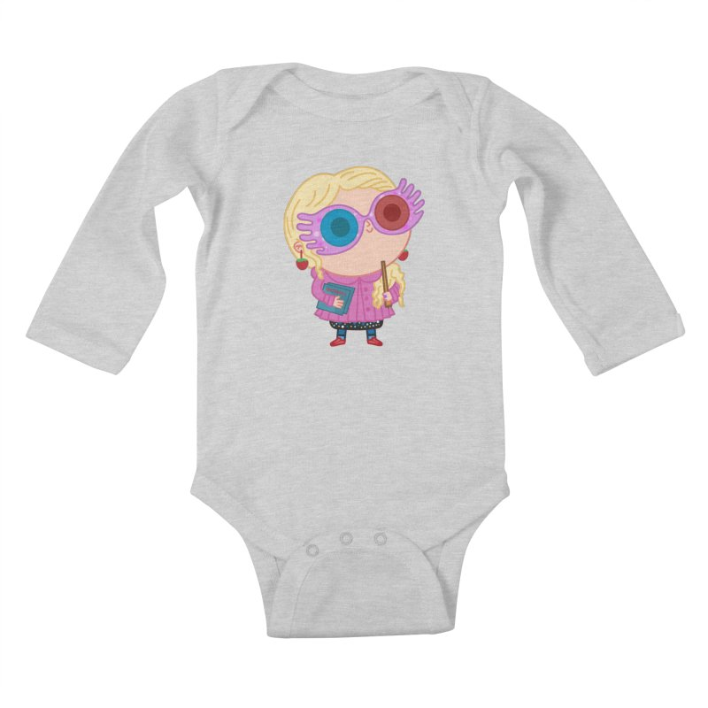Luna Kids Baby Longsleeve Bodysuit by Pepe Rodríguez