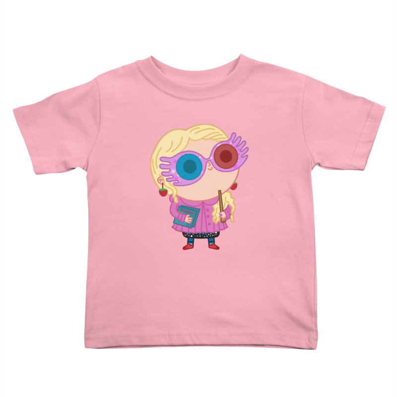 Luna Kids Toddler T-Shirt by Pepe Rodríguez