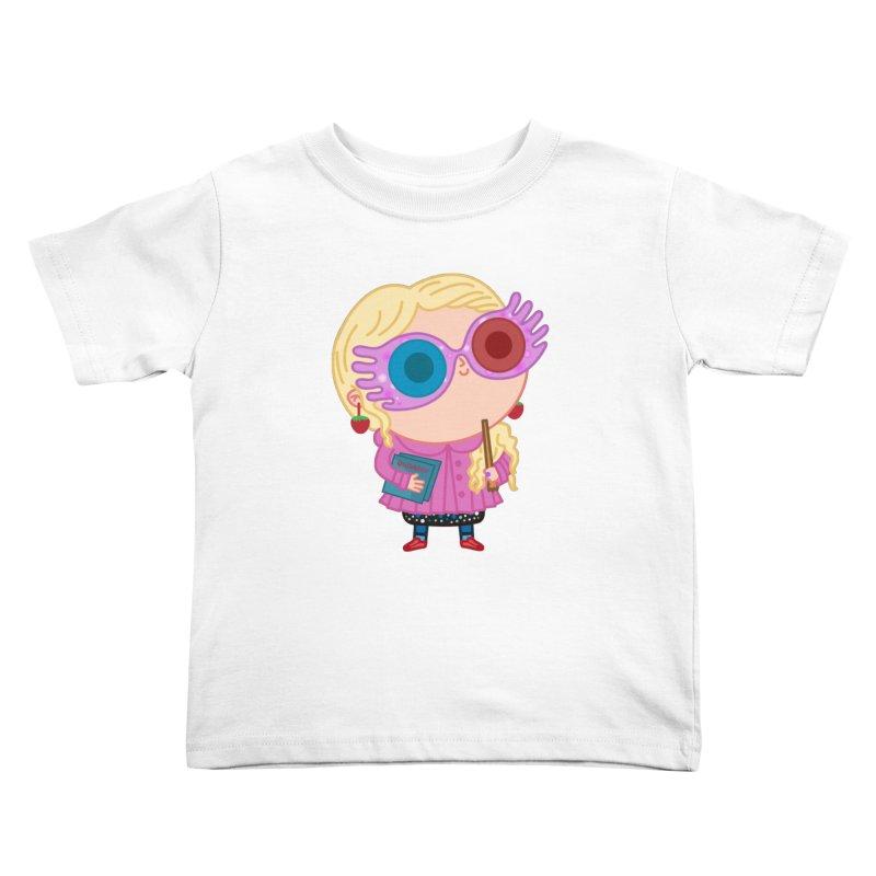 Luna Kids Toddler T-Shirt by Pepe Rodríguez