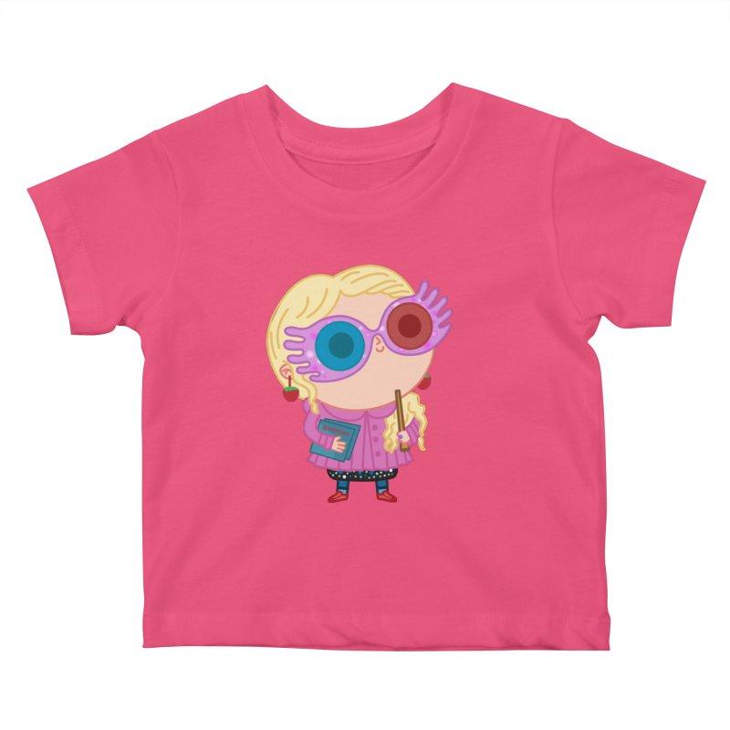 Luna Kids Baby T-Shirt by Pepe Rodríguez