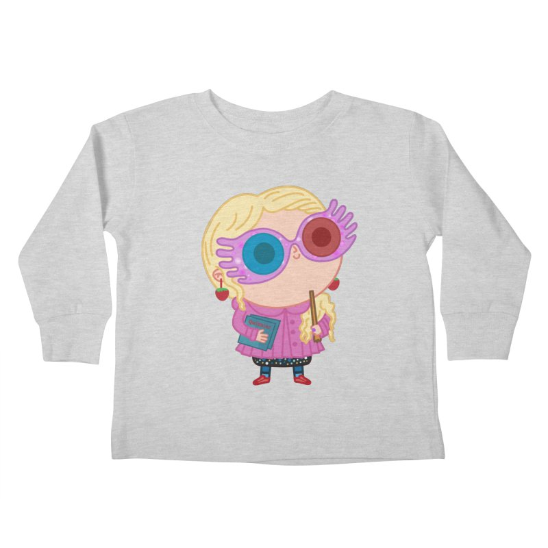 Luna Kids Toddler Longsleeve T-Shirt by Pepe Rodríguez