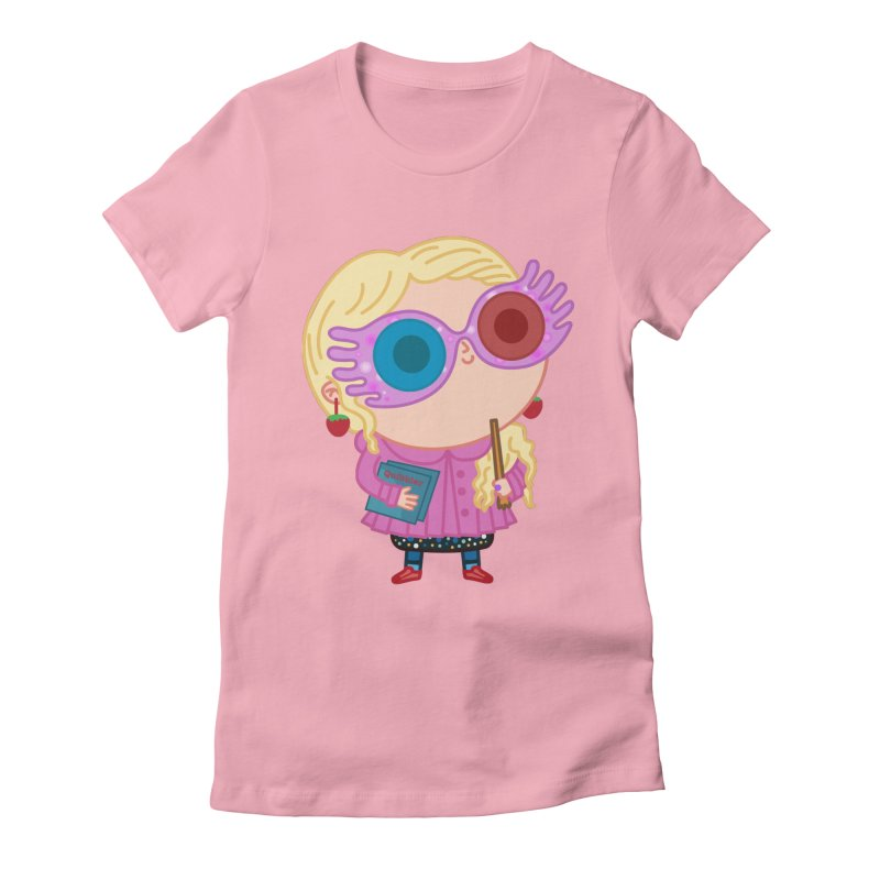 Luna Women's Fitted T-Shirt by Pepe Rodríguez