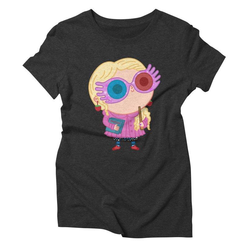 Luna Women's Triblend T-Shirt by Pepe Rodríguez