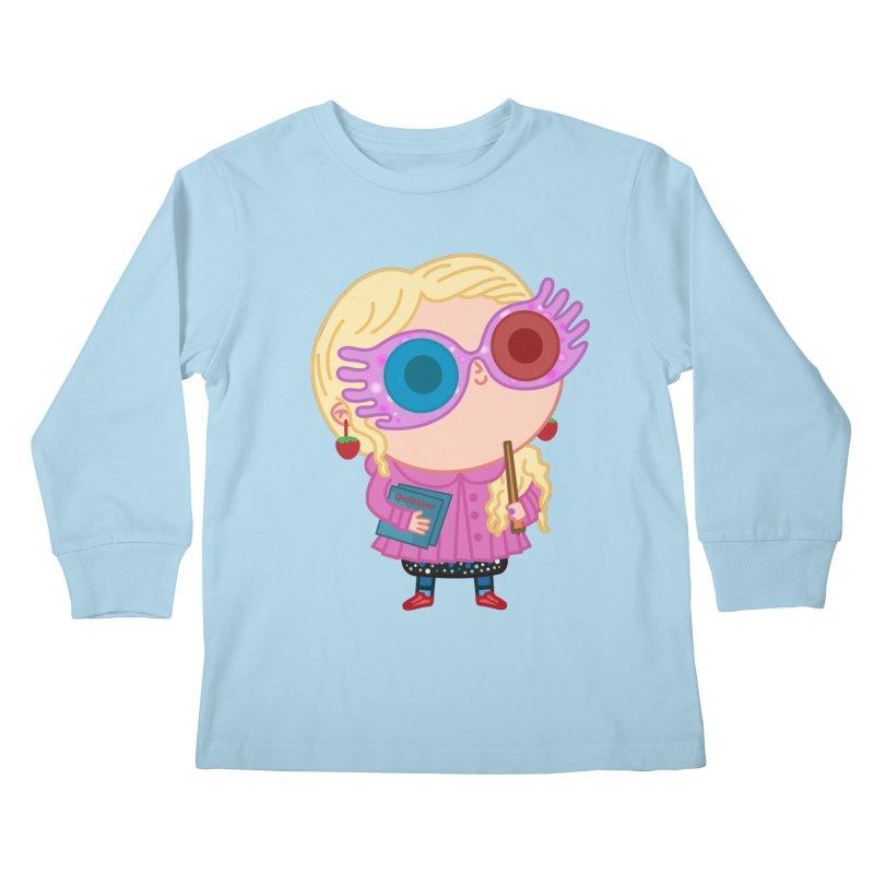 Luna Kids Longsleeve T-Shirt by Pepe Rodríguez