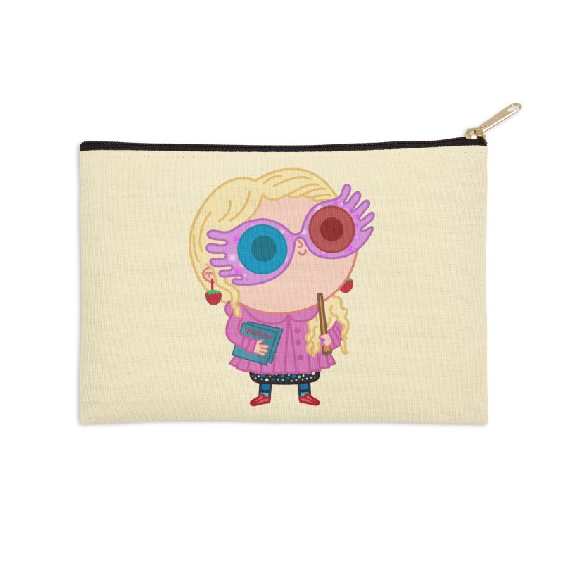 Luna Accessories Zip Pouch by Pepe Rodríguez
