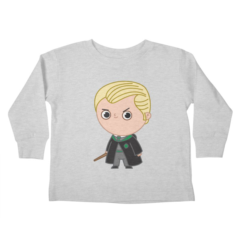 Draco Kids Toddler Longsleeve T-Shirt by Pepe Rodríguez