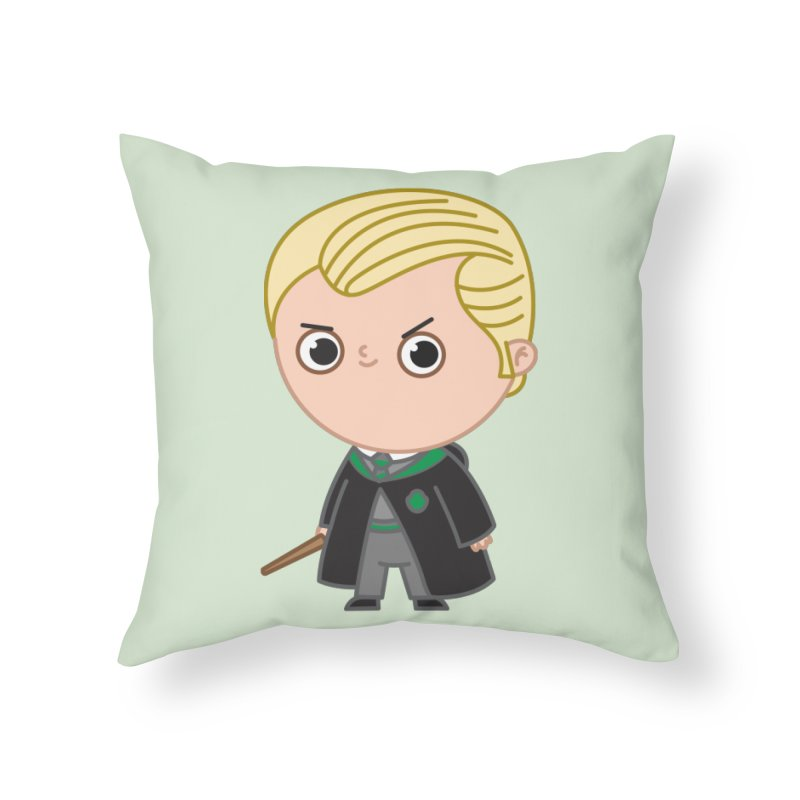 Draco Home Throw Pillow by Pepe Rodríguez