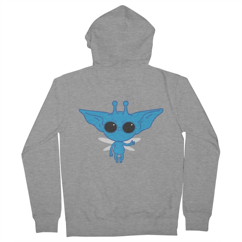 Pixie Men's French Terry Zip-Up Hoody by Pepe Rodríguez