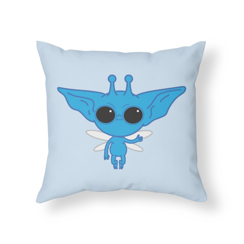 Pixie Home Throw Pillow by Pepe Rodríguez