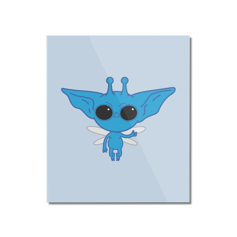Pixie Home Mounted Acrylic Print by Pepe Rodríguez