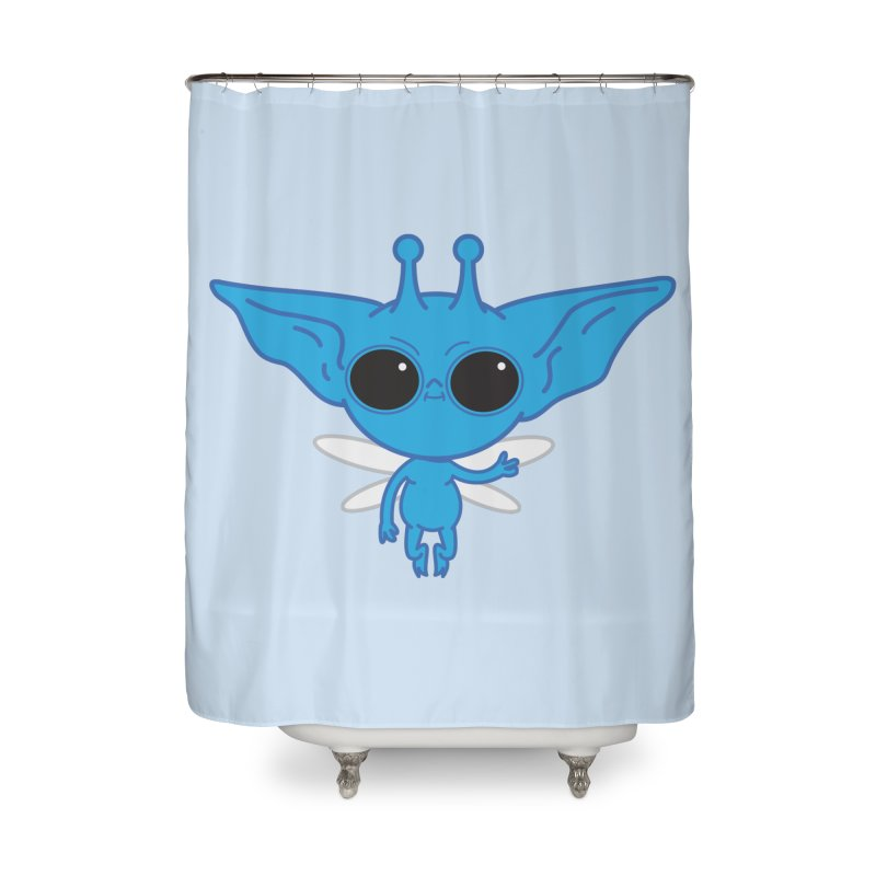 Pixie Home Shower Curtain by Pepe Rodríguez