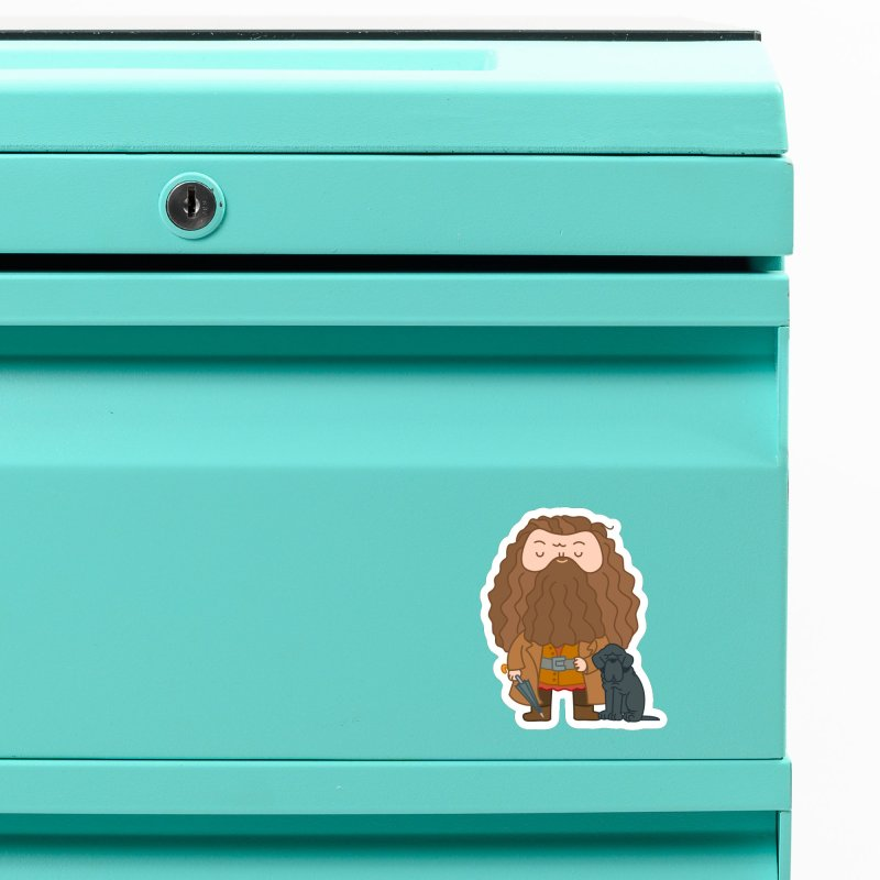 Hagrid Accessories Magnet by Pepe Rodríguez