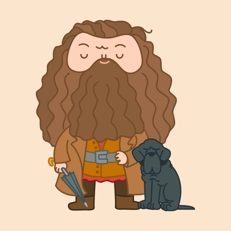 Hagrid Men's T-Shirt by Pepe Rodríguez