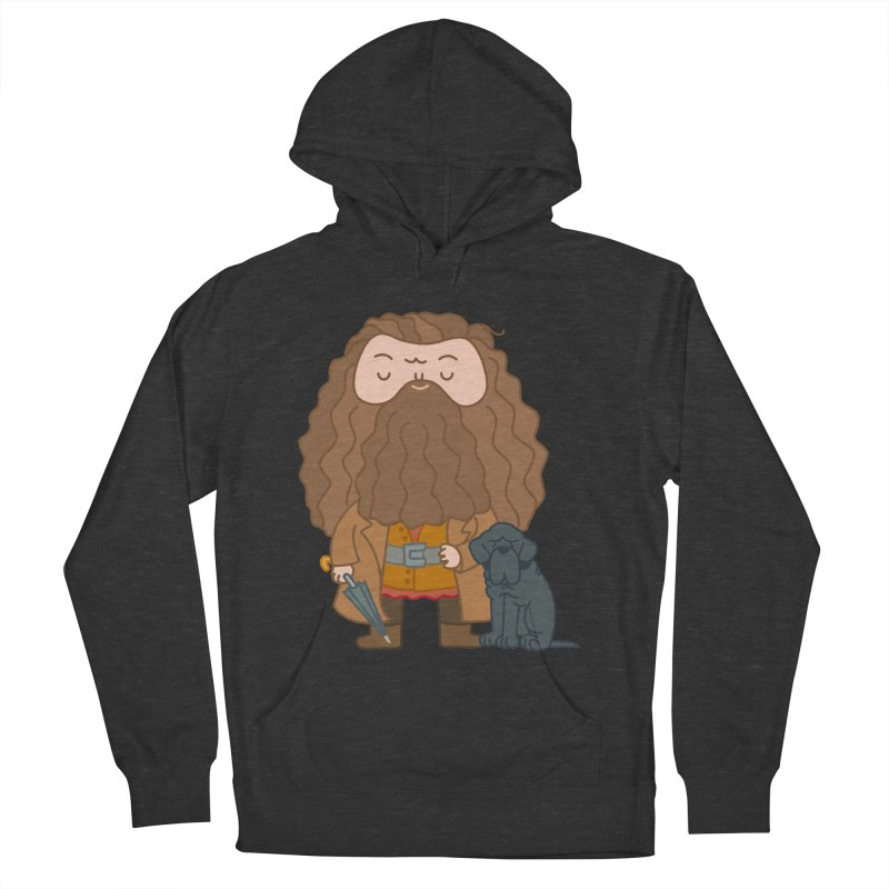 Hagrid Men's French Terry Pullover Hoody by Pepe Rodríguez