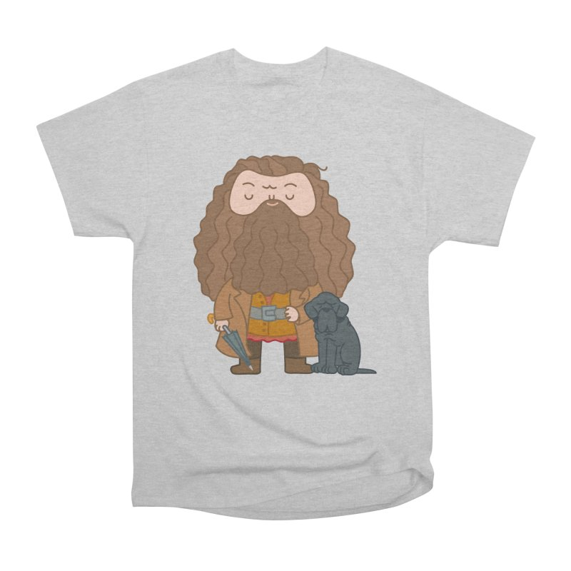 Hagrid Women's Heavyweight Unisex T-Shirt by Pepe Rodríguez