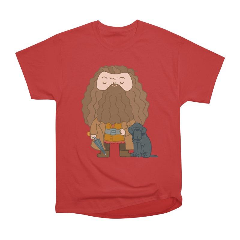 Hagrid Women's Heavyweight Unisex T-Shirt by Pepe Rodríguez