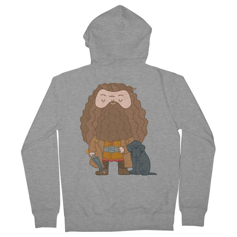 Hagrid Women's French Terry Zip-Up Hoody by Pepe Rodríguez