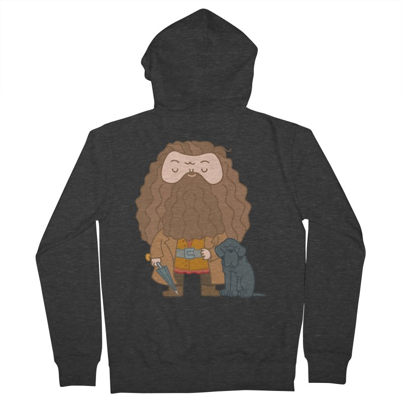 Hagrid Men's French Terry Zip-Up Hoody by Pepe Rodríguez