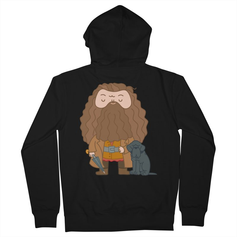 Hagrid Men's Zip-Up Hoody by Pepe Rodríguez