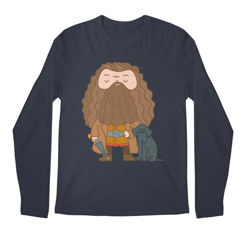 Hagrid Men's Regular Longsleeve T-Shirt by Pepe Rodríguez