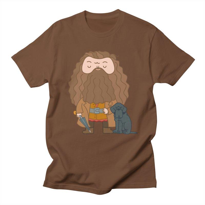 Hagrid Men's Regular T-Shirt by Pepe Rodríguez