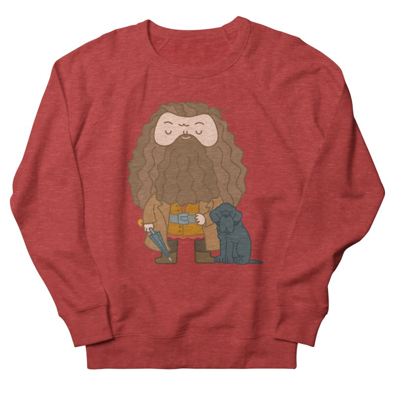 Hagrid Women's French Terry Sweatshirt by Pepe Rodríguez