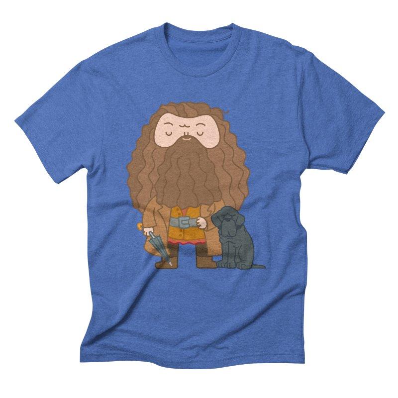 Hagrid Men's Triblend T-Shirt by Pepe Rodríguez
